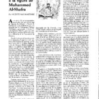 En torno a la figura de Mohammad Al-Shafra