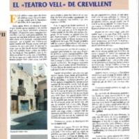 El teatro vell de Crevillent